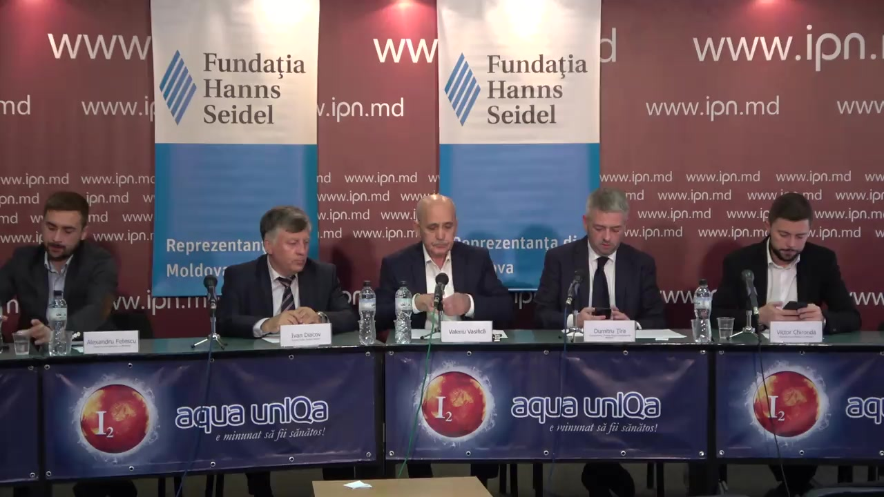"""Dezbateri publice cu tema """"Doar unul din mulți: cine și de ce?"""", dezbateri publice cu participarea candidaților la funcția de primar general al mun. Chișinău, runda a doua"""