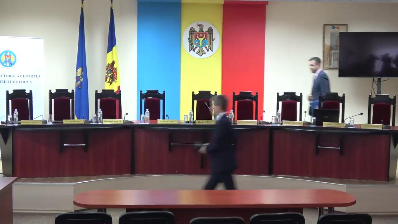 Prezentarea rezultatelor preliminare privind desfășurarea turul doi al alegerilor locale generale
