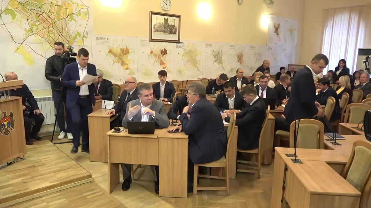 Ședința de constituire a Consiliului municipal Chișinău