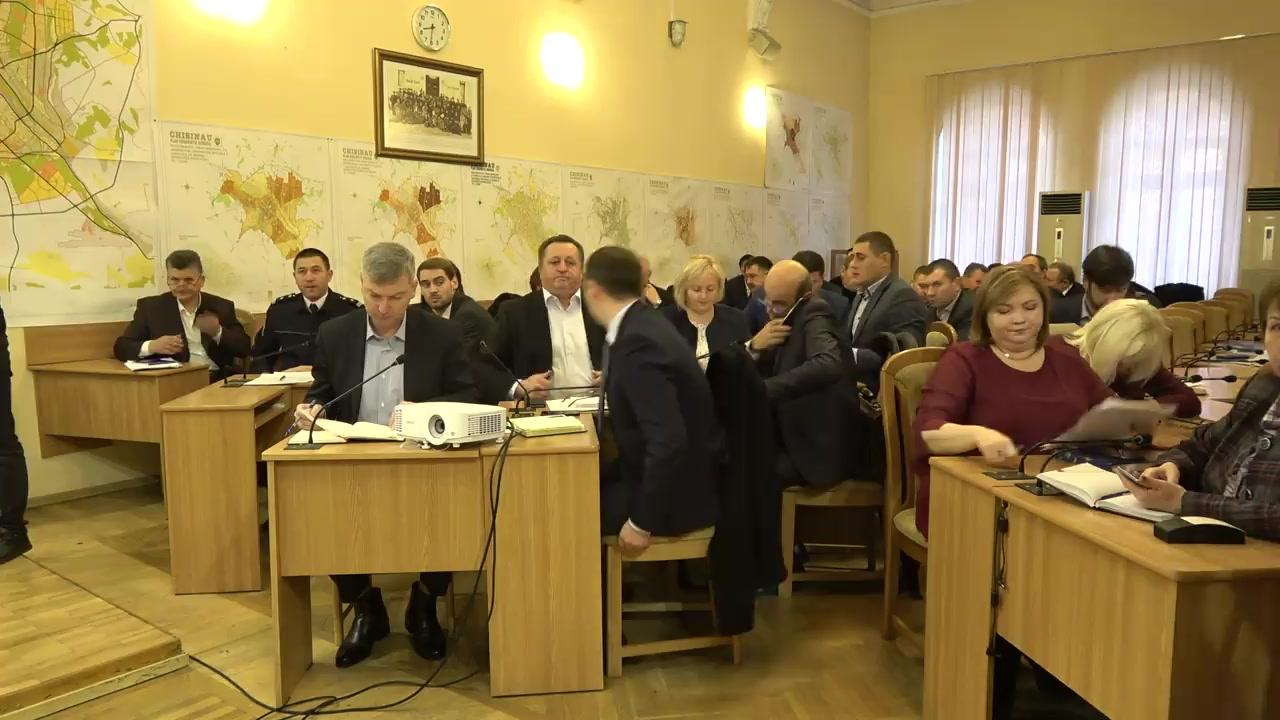 Ședința săptămânală a serviciilor primăriei Chișinău din 2 decembrie 2019