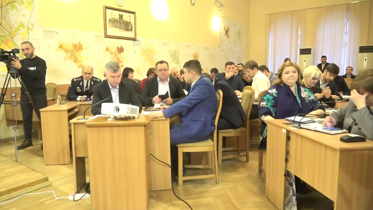 Ședința săptămânală a serviciilor primăriei Chișinău din 30 decembrie 2019