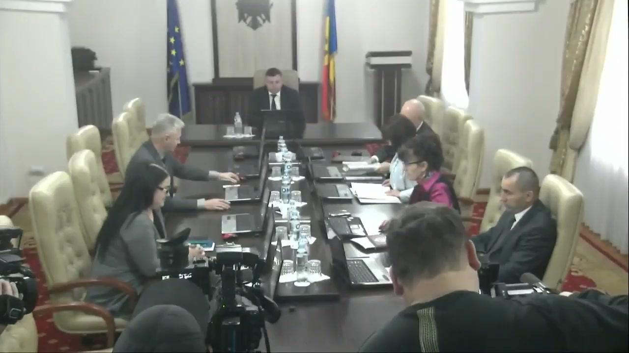 Ședința Consiliului Superior al Magistraturii din 21 ianuarie 2020