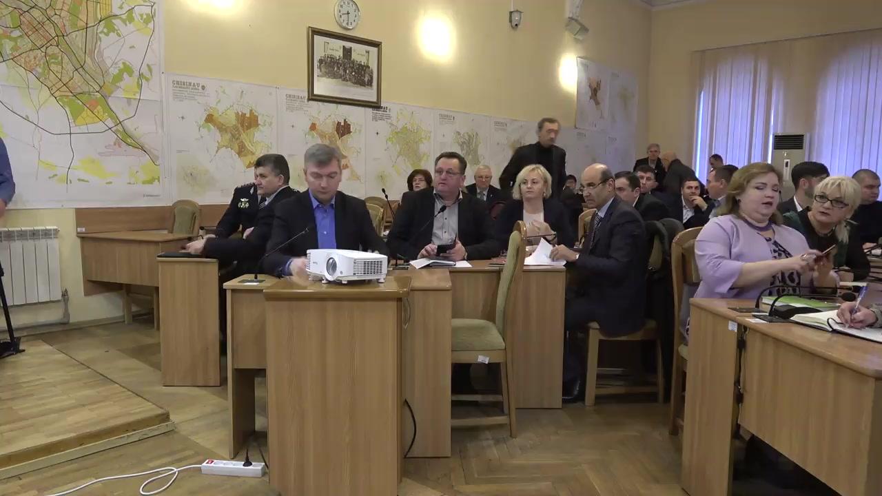 Ședința săptămânală a serviciilor primăriei Chișinău din 27 ianuarie 2020