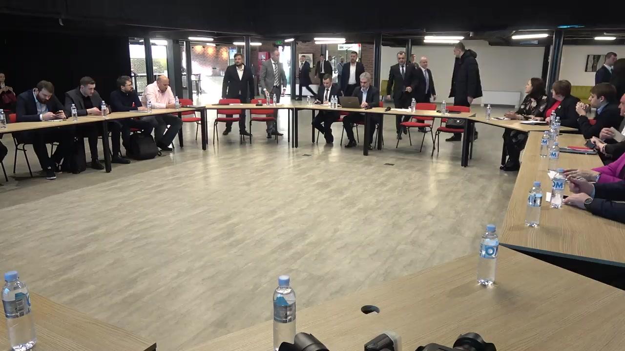 Întâlnirea Prim-ministrului Republicii Moldova, Ion Chicu, cu oamenii de afaceri din sectorul IT
