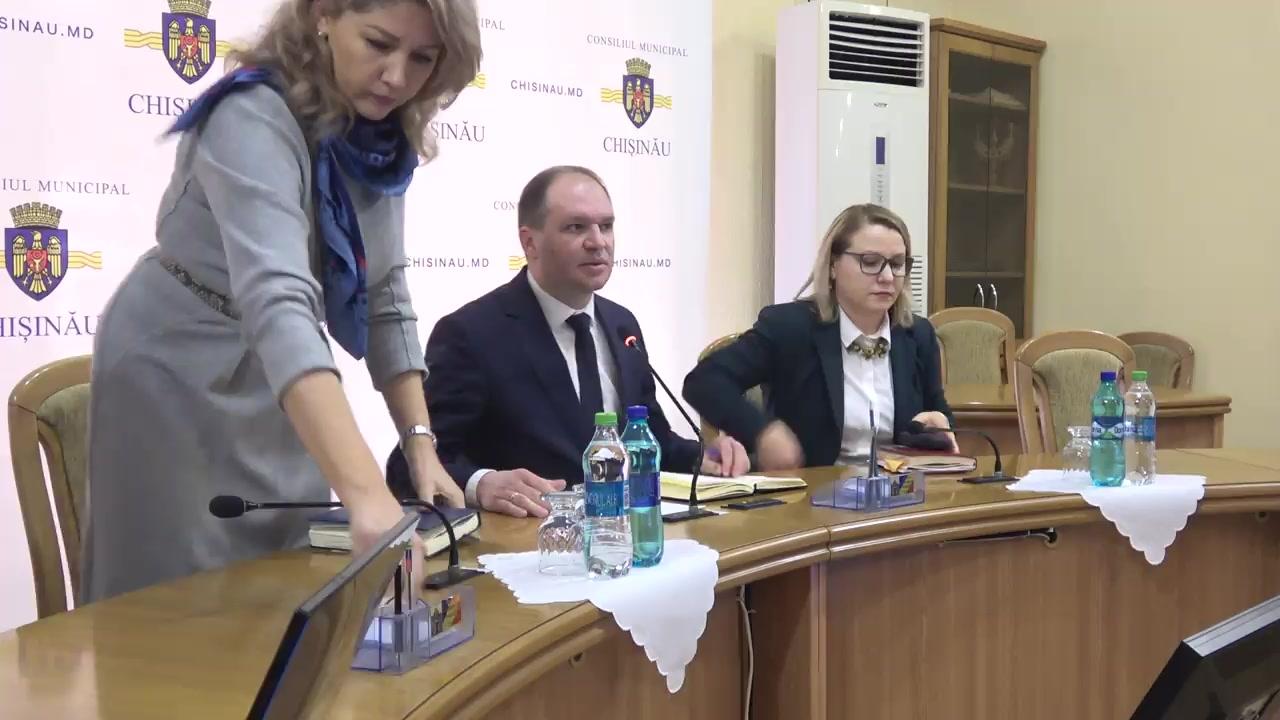 Ședința săptămânală a serviciilor primăriei Chișinău din 10 februarie 2020