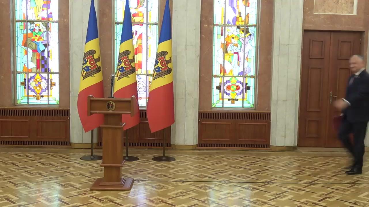 Declarațiile Președintelui Republicii Moldova, Igor Dodon, după ședința Consiliului Suprem de Securitate din 7 aprilie 2020