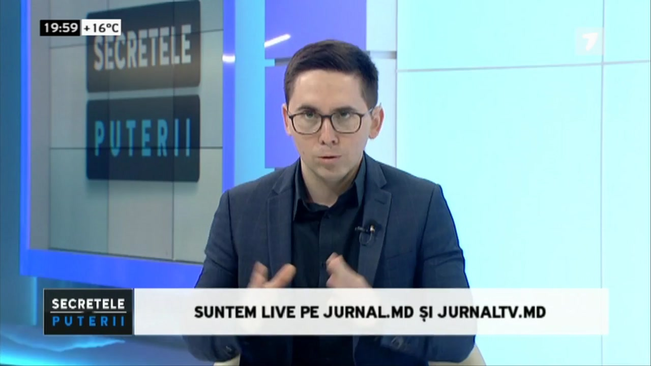 "Emisiunea ""Secretele puterii"" de la JurnalTV. Invitat - Președintele Republicii Moldova, Igor Dodon"