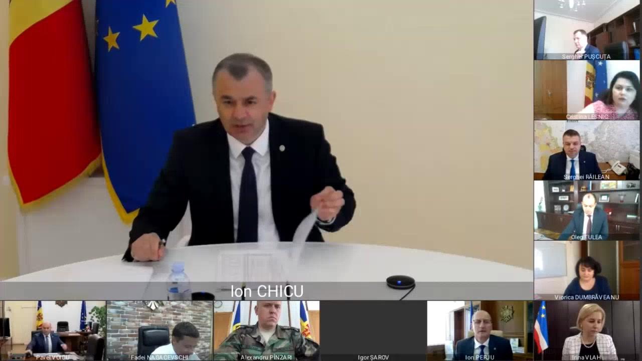 Ședința Guvernului Republicii Moldova din 1 iulie 2020