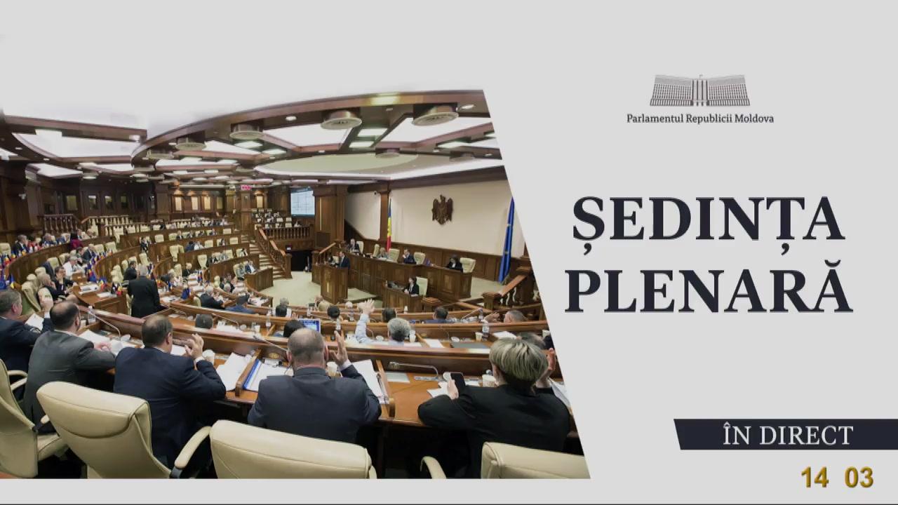 Ședința Parlamentului Republicii Moldova din 6 iulie 2020
