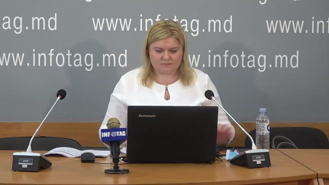 """Conferință de presă organizată de Compania Date Inteligente SRL (iData) cu tema """"Starea populației Republicii Moldova în contextul pandemiei de COVID-19. Situația politică"""""""