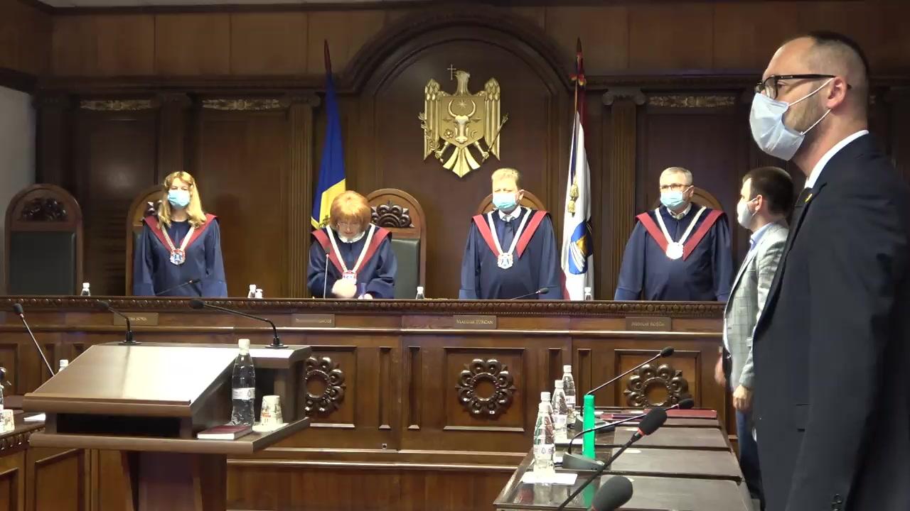 Pronunțarea dispozitivului Hotărârii Curții Constituționale privind interpretarea articolelor 134 alin. (1) și (2), 136 alin. (3) și 140 alin. (2) din Constituție
