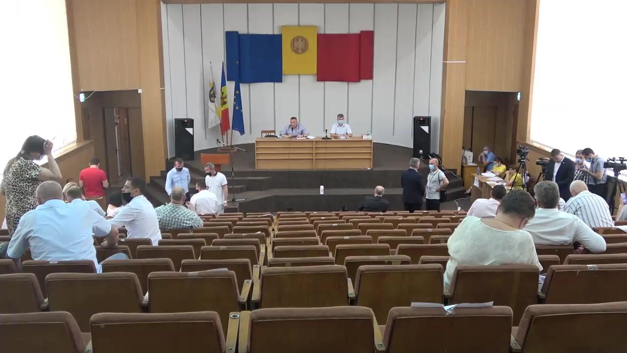 Ședința Consiliului Municipal Chișinău din 9 iulie 2020