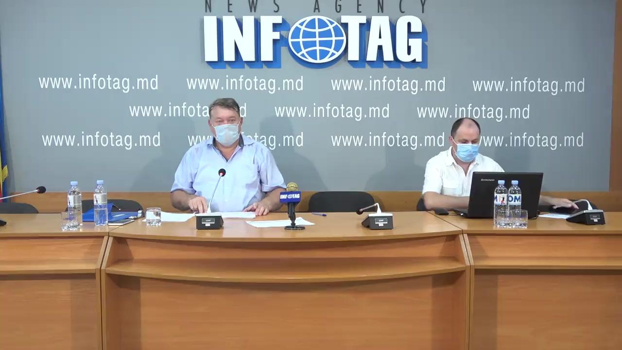 """Conferință de presă organizată de Asociația Sociogilor și Demografilor din Republica Moldova cu tema """"Rezultatele studiului sociologic: Republica Moldova la trei decenii de independență: aspecte sociologice"""""""