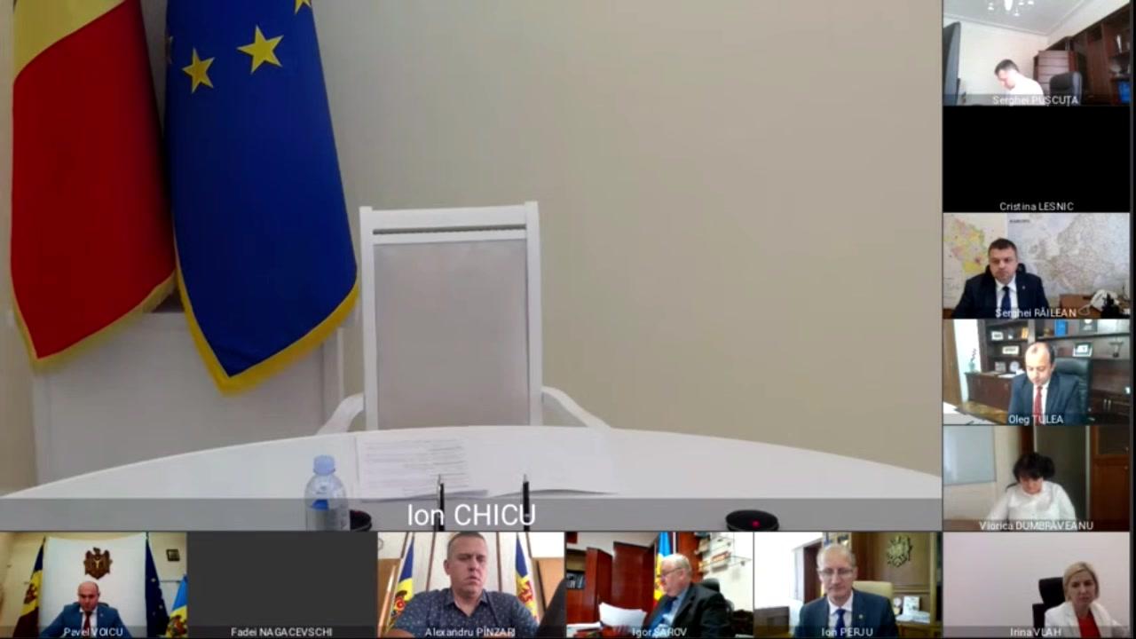 Ședința Guvernului Republicii Moldova din 31 iulie 2020