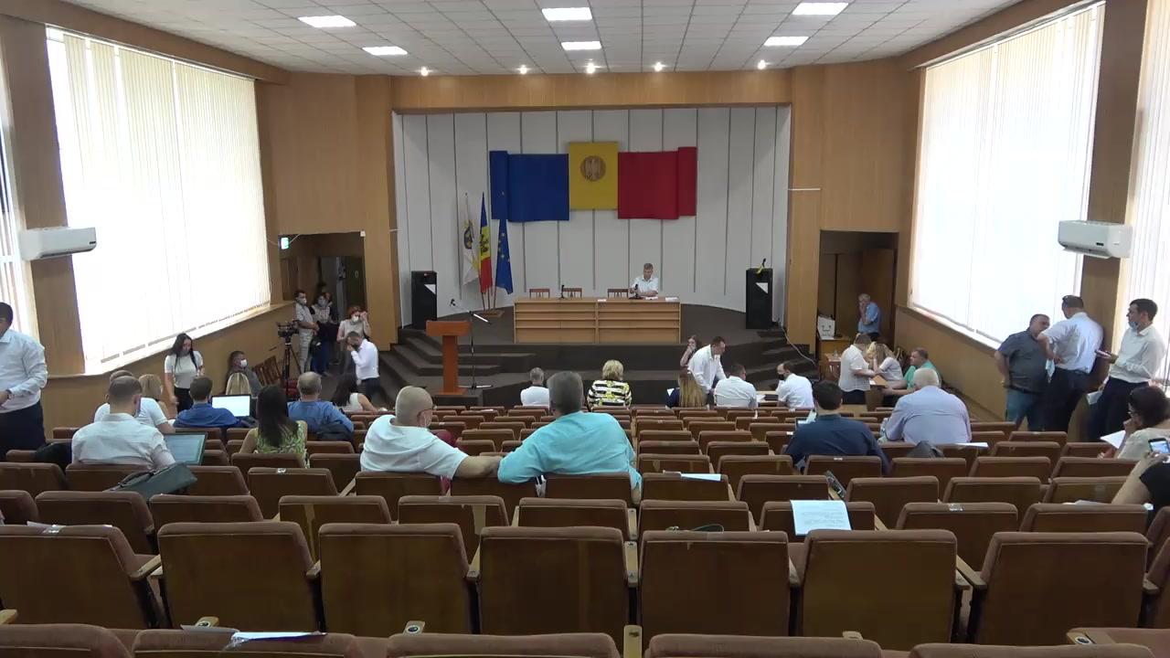 Ședința Consiliului Municipal Chișinău din 4 august 2020