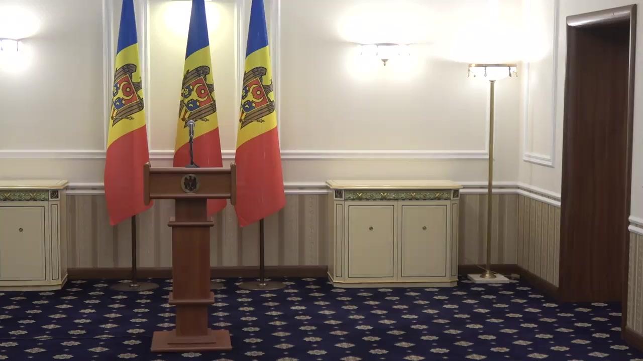 Declarații de presă după ședința de lucru a Președintelui Republicii Moldova, Igor Dodon, cu președintele Parlamentului Republicii Moldova, Zinaida Greceanîi și cu prim-ministrul Republicii Moldova, Ion Chicu