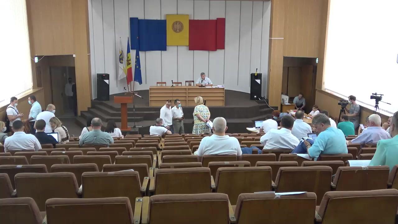 Ședința Consiliului Municipal Chișinău din 11 august 2020