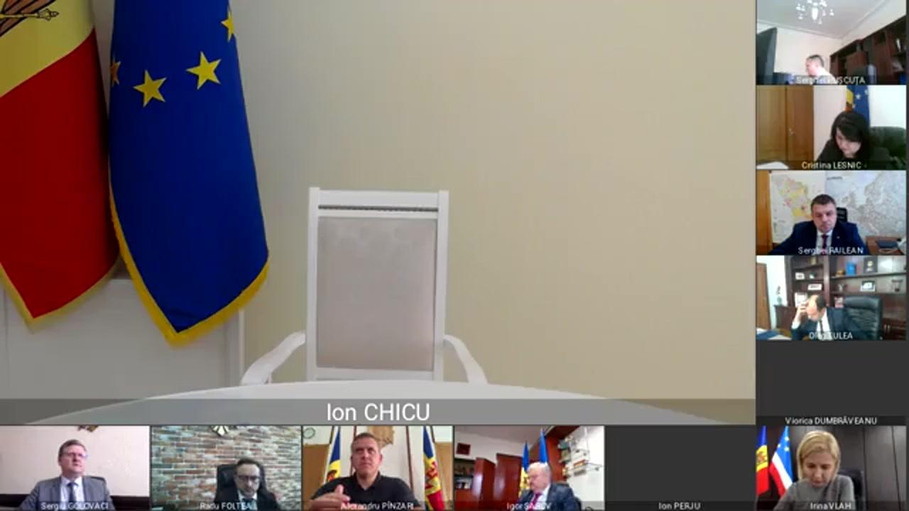 Ședința Guvernului Republicii Moldova din 13 octombrie 2020