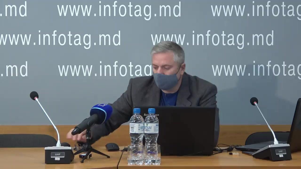 """Conferință de presă cu tema """"Prezentarea sondajului social-politic realizat de Fondul Opiniei Publice """"FOP"""" la solicitarea portalului Public Media"""""""