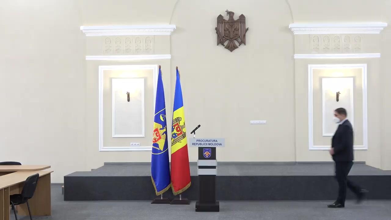 Briefing de presă organizat de Procuratura Generală