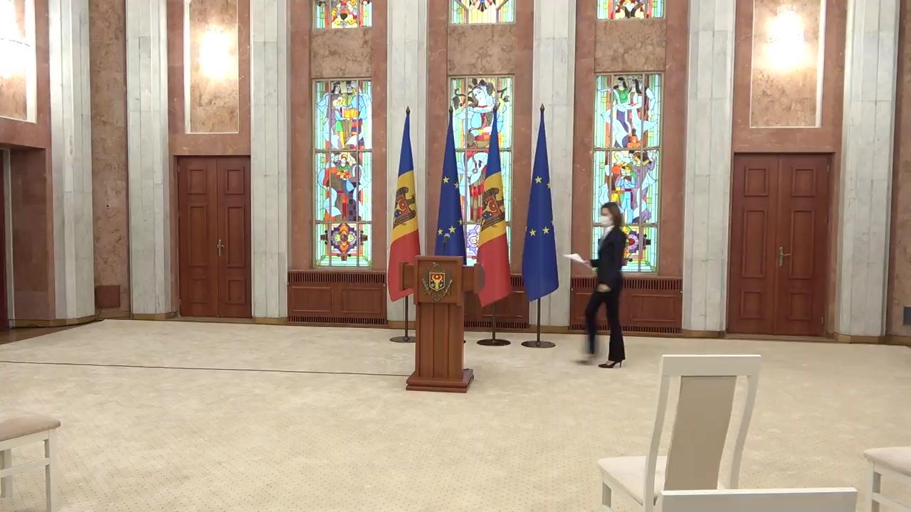 Conferință de presă susținută de Președintele Republicii Moldova, Maia Sandu, dedicată rezultatelor vizitei oficiale la Kiev
