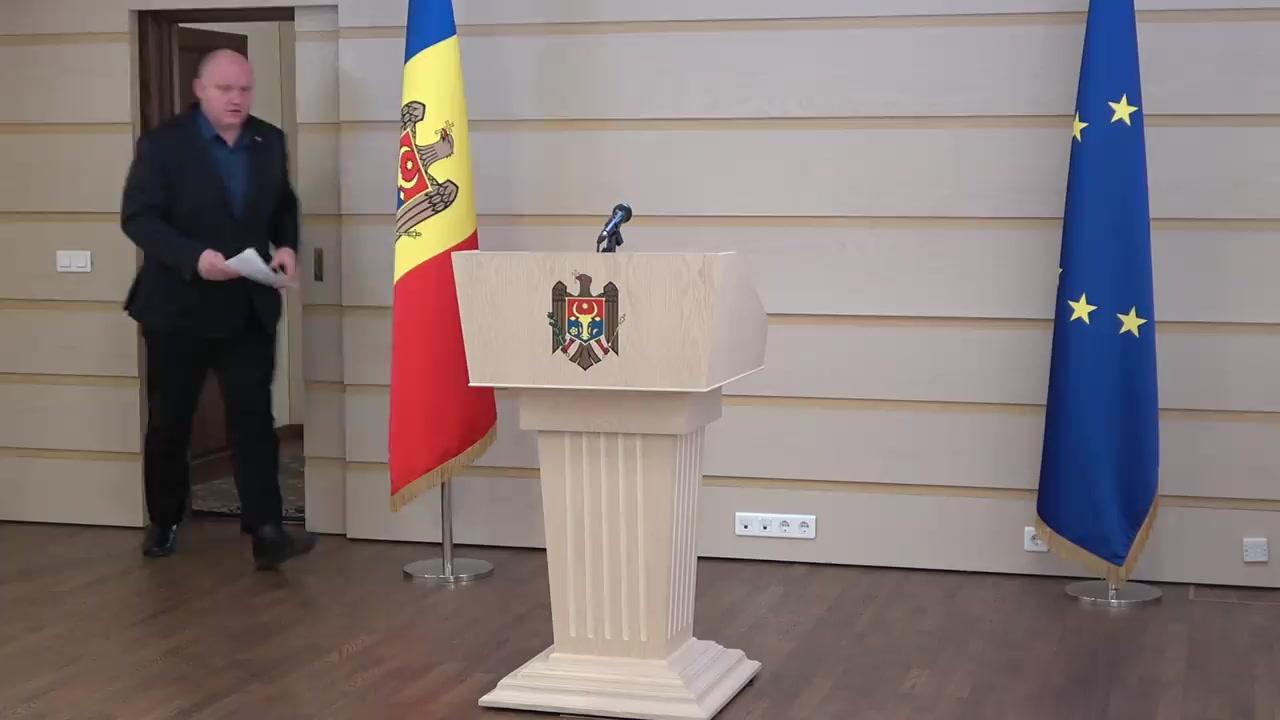 Briefing de presă susținut de fracțiunea PSRM privind depunerea unei sesizări la Curtea Constituțională