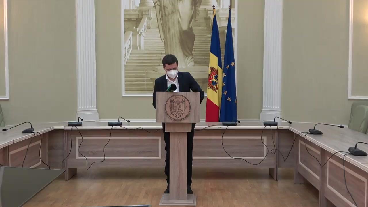 Briefing de presă susținut de Ministrul Justiției, Fadei Nagacevschi