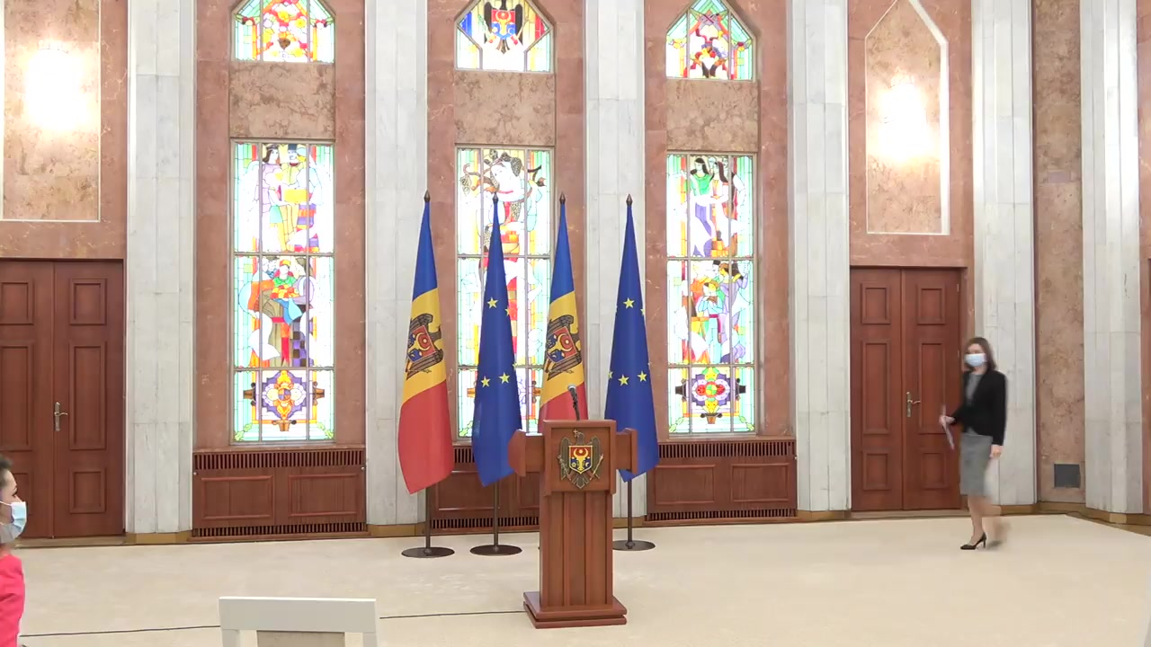 Briefing de presă dedicat rezultatelor vizitei oficiale pe care Președintele Republicii Moldova, Maia Sandu, a efectuat-o în zilele de 18-19 ianuarie la Bruxelles
