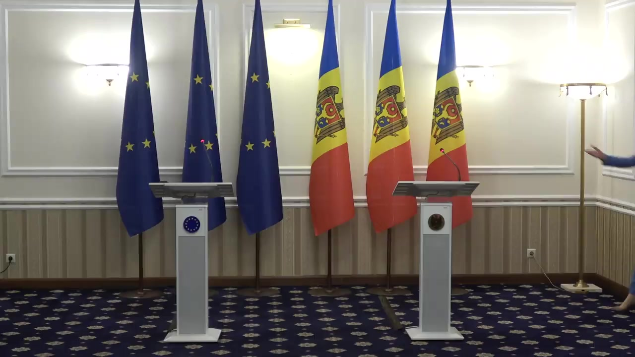 Press statements by the President of the Republic of Moldova, Maia Sandu, and the President of the European Council, Charles Michel