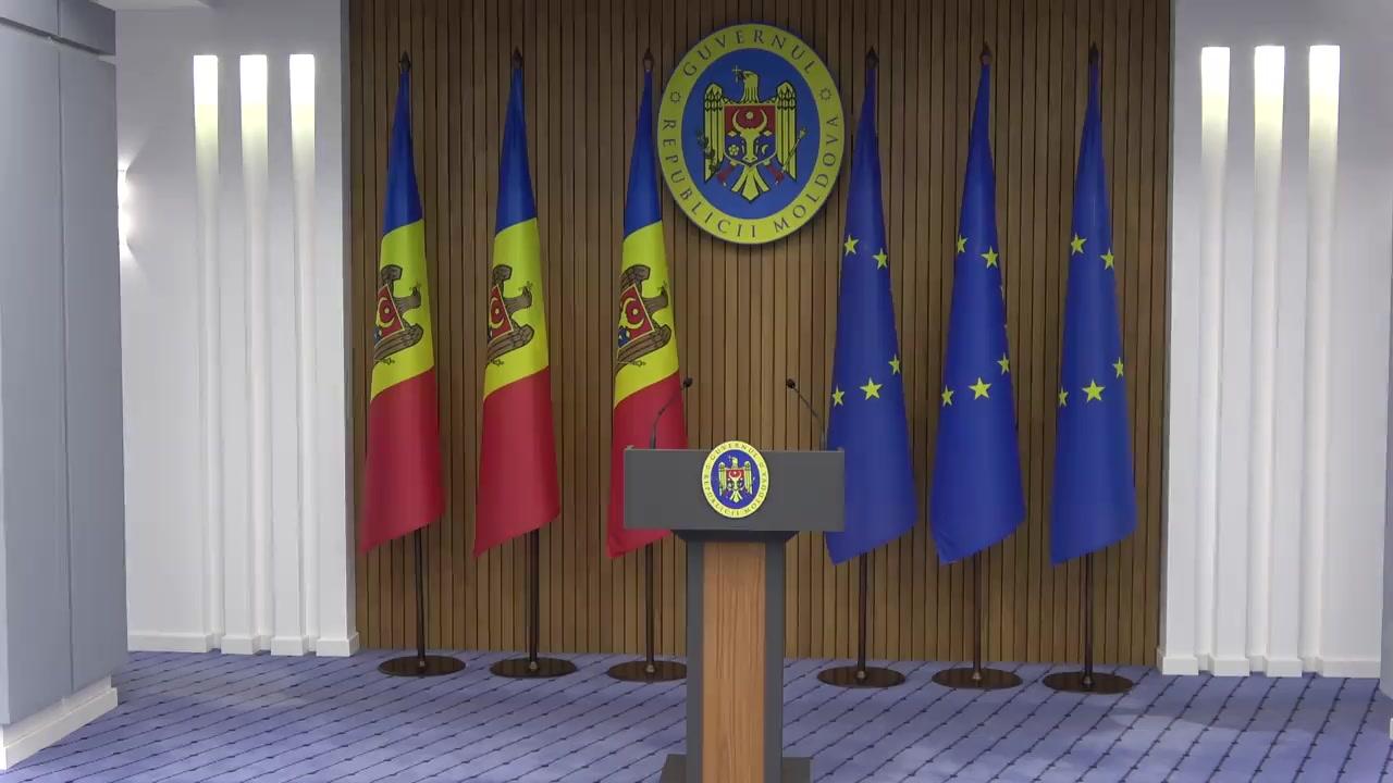 Briefing de presă susținut de Prim-ministrul interimar, Aureliu Ciocoi, după ședința Centrului unic de comandă a stării de urgență