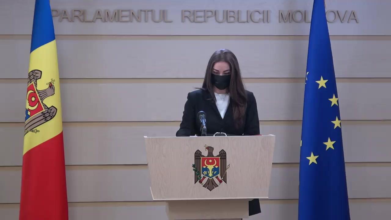 Briefing de presă susținut de deputații Fracțiunii parlamentare PSRM