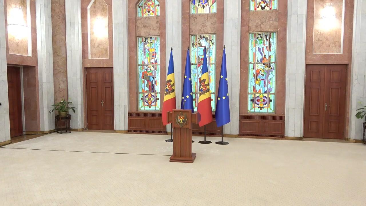 Briefing de presă susținut de Președintele Republicii Moldova, Maia Sandu