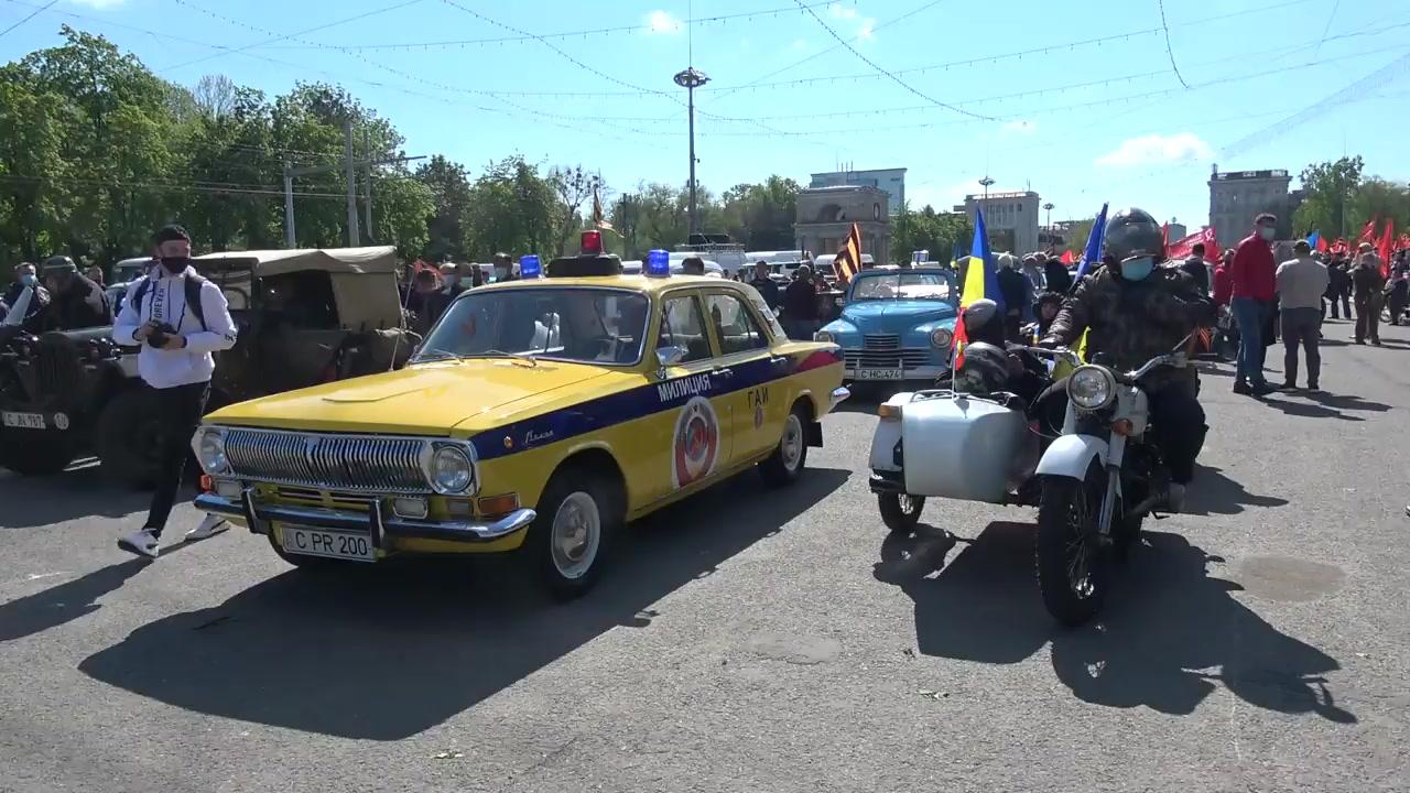 """Marșul """"Regimentul Nemuritor"""" cu prilejul Zilei Victoriei"""
