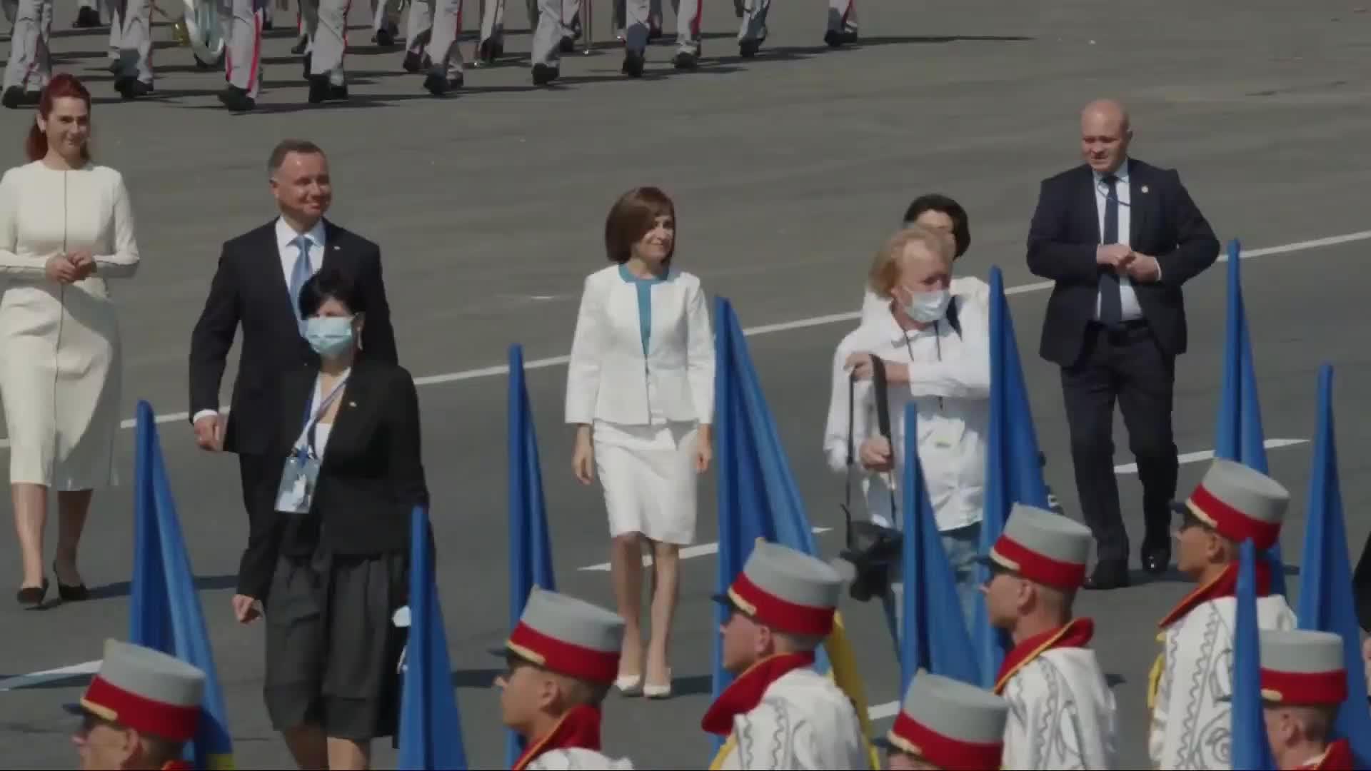 Ceremonia dedicată celei de-a 30-a aniversări a Independenței Republicii Moldova