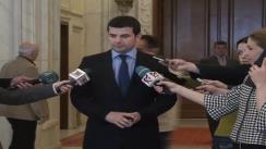 Declarațiile lui Daniel Constantin după Consiliului Național al Societății Civile și ai USL, în cadrul căreia s-au discutat principalele măsuri economice și fiscale prevăzute în programul de guvernare al USL