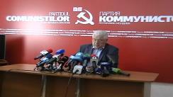 Liderul Partidului Comuniștilor din Republica Moldova, Vladimir Voronin - Opinia PCRM cu privire la ieșirea din criza politică