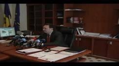 Ministrul Justiției, Alexandru Tănase - Precizări privind poziția Comisiei de la Veneția cu privire la organizarea referendumului