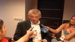 Declarații de presă ale primarul general, Sorin Oprescu, după comandament