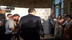 Declarațiile prim-ministrului României, Victor Ponta, după depunerea jurământului de către primarul general al Bucureștiului, Sorin Oprescu