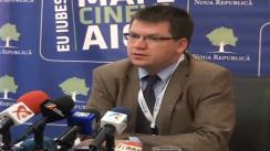 Declarațiile de presă ale fondatorului Partidului Noua Republică, Mihai Neamțu și ale Europarlamentarului Monica Macovei