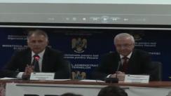 Conferință de presă prilejuită de marcarea Zilei Internaționale împotriva traficului și consumului ilicit de droguri