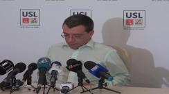 Conferință de presă susținută de vice-președintele PNL, Mihai Voicu