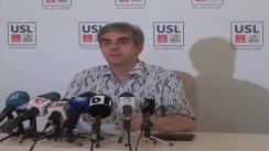 Conferință de presă susținută de vice-președintele PNL, Eugen Nicolăescu