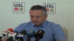 Conferință de presă susținută de vicepreședintele PNL, Relu Fenechiu