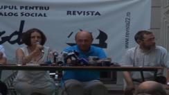"""Întâlnirea societății civile cu președintele suspendat al României, Traian Băsescu. Tema: """"România 2012: Este reforma ireversibilă?"""""""