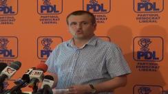 Conferință de presă susținută de prim-vicepreședintele PDL, Cristian Preda