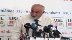 Conferință de presă susținută de vicepreședinte PNL, Varujan Vozganian