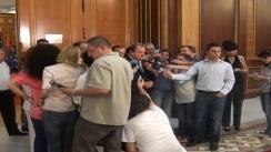 Declarațiile de presă ale președintelui PDL, Vasile Blaga după reuniunea Colegiului Director a PDL