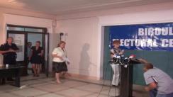 Biroul Electoral Central - Prezentarea datelor privind prezența la vot la ora 14.00