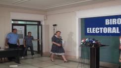 Biroul Electoral Central - Prezentarea datelor preliminare cu privire la rezultatele referendumului